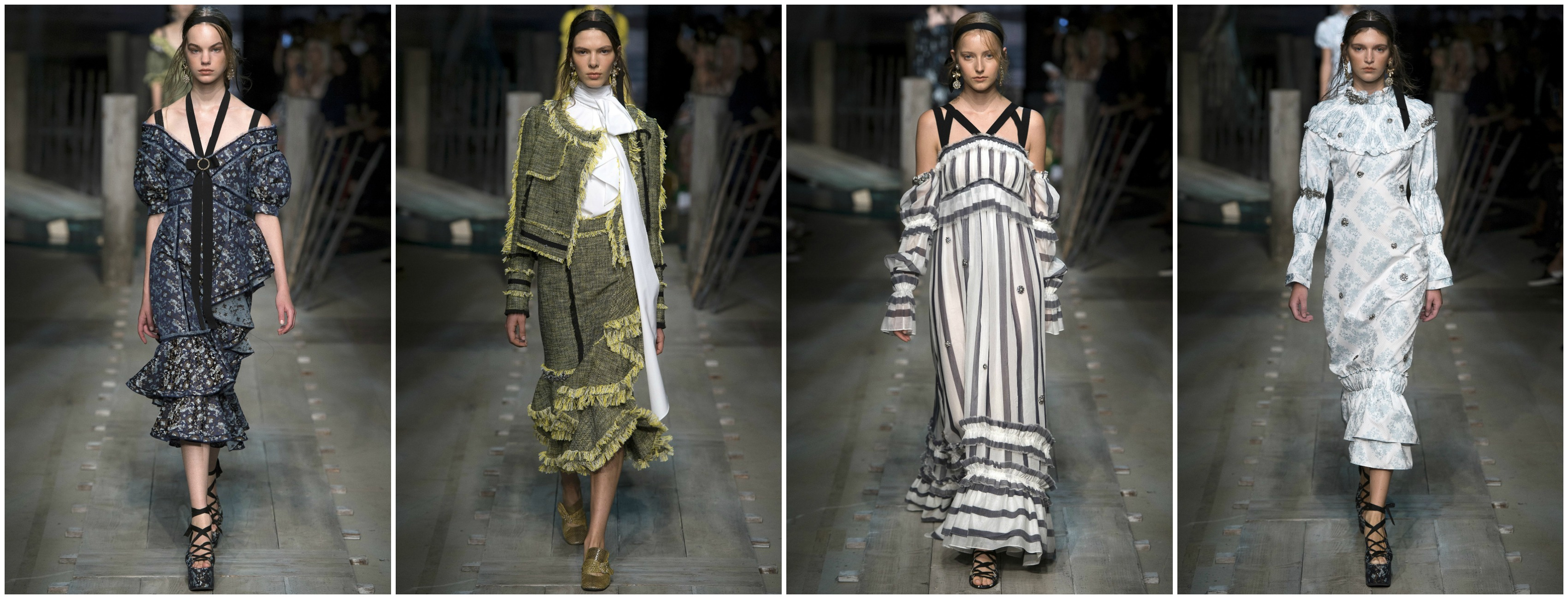 london fashion week id couture styling erdem 2016